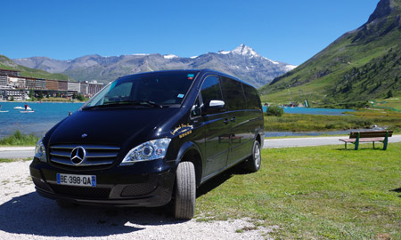 Taxi gare Bourg Saint Maurice